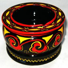 土漆工艺烟灰缸